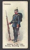 WILLS - SOLDIERS & SAILORS (BLUE) - GERMANY, INFANTRY OF THE LINE, PRIVATE