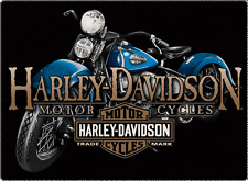 "Harley Davidson American Motorcycles Trade Mark Sign 17"" x 12 1/2"" Tin NEW"
