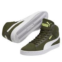 Scarpe Puma 48 Mid Canvas 357753-03 Moda Uomo Sneakers Alta Verde Foresta Cool