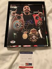 Andre Ward Signed 8x10 Photo Psa Coa Boxer Champ