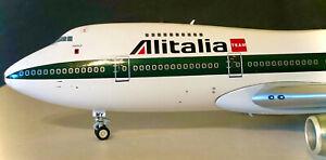 Inflight 200 Boeing 747-200 Alitalia I-DEMY 'Asolo' 1:200 Scale RARE Diecast