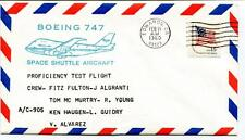 1980 Boeing 747 Space Shuttle Aircraft Fulton Algranti Murtry Young Alvarez USA