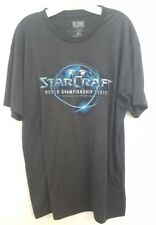 Blizzard eSports StarCraft World Championship Series graphic T-Shirt mens sz XL
