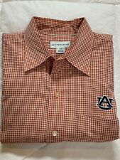 Auburn Tigers AU Cutter and Buck Button Down Size Large