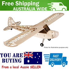 RC Balsa Plane Kit only J-3 Laser Cut Kit 1180mm w/Glazing and Cowl (KIT) V2