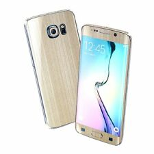 3D BRUSHED Metal Skin Wrap Sticker Decal Protector for SAMSUNG GALAXY S6 EDGE