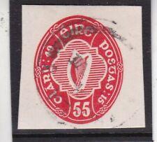 Ireland 55c Postal Stationary Cut Out Vgc