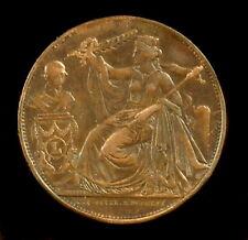 Médaille 21 juillet 1856 anniversaire de l'inauguration du roi 28 mm 10 g Medal