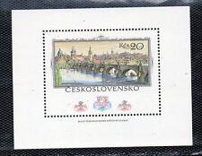 Tchécoslovaquie Ponts Exposition Philatélique Prague Année 1978 (CL-539)