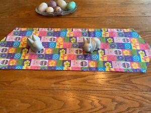 Easter table runner ... Reversible