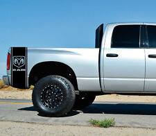 Hemi Dodge Ram Bed Stripes Truck Decals Mopar Stickers Set of 2 Racing