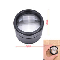 Portable 30x36mm Jeweler Loupes Magnifier Tool Vetro tasca Microscopio tasca PQ