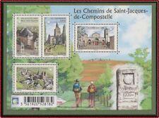 2013 FRANCE BLOC F4725** BF Les Chemins de St Jacques de Compostelle sheet MNH