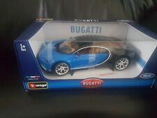 Bugatti Chiron  2016 Blue / black 1:18 Bburago Burago