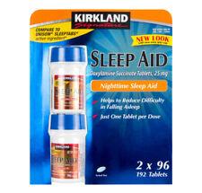 Kirkland SLEEP AID 25mg (Doxylamine Succinate) 192 Tablets