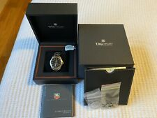 Tag Heuer Link Calibre 6 Automatic Men's Watch WJF211A Black Dial 39mm