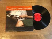 Miles Davis LP - Porgy and Bess - Columbia 6 Eye CL 1274