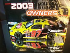Kurt Busch #97 Rubbermaid Commercial Products Sharpie 2003 Ford Taurus 2,400