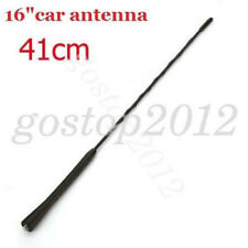 "Black 16"" AM/FM Aerial Roof Mast Radio Whip Antenna For Mazda 356 BMW Toyota"