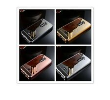 Mirror Aluminum Metal Frame Plated Acrylic Phone Case For LG Models