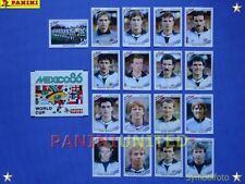 Panini★WM 1986 WorldCup WC 86★Team Schottland komplett / Scotland complete set