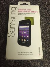 Silicone Case With Built-in Battery PowerSkin For Samsung Vibrant&Galaxy S