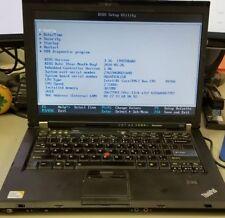 Lenovo Thinkpad T400 | Core 2 Duo 2.53 GHz | 2 GB RAM | 80 GB HD | Boots to BIOS