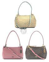Coach (F73196 73177) Leather Small Mia Shoulder Bag Handbag Purse
