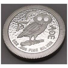 1 Oz Oz Niue Owl by Athens Athenian Owl 2 Dollar 999 Silber Silbermünze