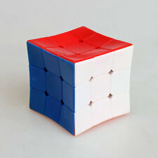 HMQC Concave Surface Stickerless 3x3x3 Odd Shape Magic Cube Twsit Puzzle Toy
