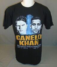 Canelo Alvarez Khan 2016 Middleweight Boxing Championship T-Shirt Extra Large XL