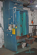 Powder coat coating booth Recovery Cabinet  Abrasive Blasting Supplies