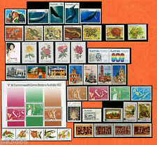 Australia 1982 Year Collection Complete 44 stamps & 1 mini sheet MNH