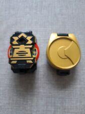 Power Rangers Super Samurai Negro Caja Morpher, disco 1 & Clip para cinturón funda de segunda mano