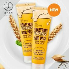 [Crazy Skin] Beer Yeast Hair Mask Pack Haircare Essence Treatment Super-Damaged