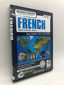 FSI: Basic French Part A (PC/MAC) by Audio-Forum