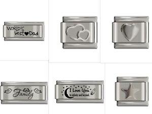 UK Classic Italian Charm fits Italy 9mm Charm Bracelets Various Design UK