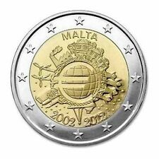 Malta 2012 10 Years Euro Cash