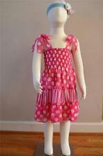 Summer Dressy Sleeve PINK Dresses (Sizes 4 & Up) for Girls