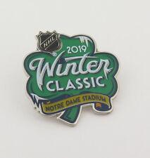 2019 NHL Winter Classic Pin Boston Bruins vs Chicago Blackhawks - Bridgestone