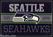 SEATTLE SEAHAWKS FOOTBALL NFL LICENSED VINTAGE TEAM LOGO INDOOR DECAL STICKER