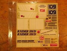 RD-16 Decal - Kyosho Raider