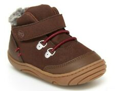 New Stride Rite 360 Chandler Ankle Boots Infant Boy's Size 3M