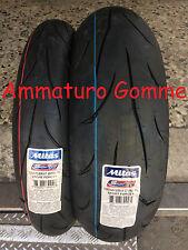 COPPIA GOMME PNEUMATICI MOTO MITAS SPORT FORCE+ 180/55 17 120/70 17 DOT 2017
