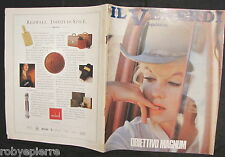 Il venerdì di repubblica rivista magazine 110 marzo 1990 Marilyn Monroe Magnum