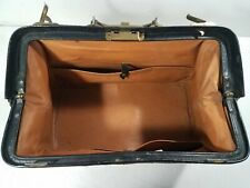 Vintage Leather Carrying Bag Luggage CH