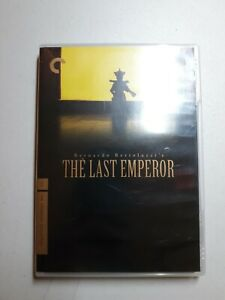 The Last Emperor  DVD Criterion Collection with Booklet Complete Free Shipping