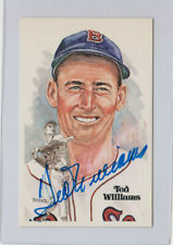 1981 Perez-Steele TED WILLIAMS Autographed Postcard Auto #'ed /10000  GORGEOUS !