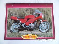 CARTE FICHE MOTO RICKMAN KAWASAKI Z 1000 CR 1977
