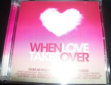 When Love Takes Over Various 2 CD (Lady Gaga Adam Lambert David Guetta) – Like N